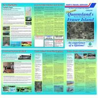 Custom 6xA4 page trifold brochure