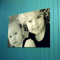 Foamboard Photo Mount -  Photo mount on 10mm thick foamboard substrate, finished with non refl