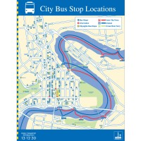 City Centre Bus Stop locations map