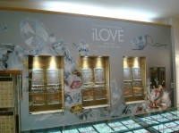 Store wall graphics