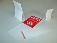 Fold and adhere cards