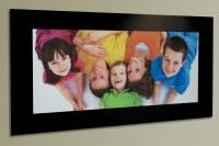 Alubond Photo Panel Family -  1200mm x 600mm Matt Black Aluminium composite board with non reflecti