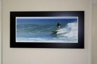 Alubond Panel Surfer 1 -  1200mm x 600mm Aluminium Composite panel, with non reflective photo m