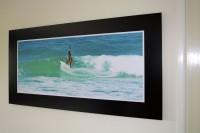 Alubond Panel Surfer 2 -  1200mm x 600mm Matt Black Aluminium Composite panel with non reflecti