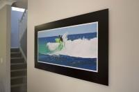 Alubond Panel Surfer 3 -  1200mm x 600mm Matt black aluminium composite panel with non reflecti