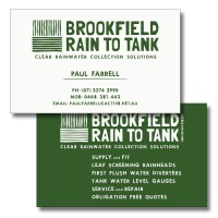 Brookfield Rain to Tank