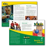 A4 trifold DL brochure