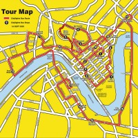 City Sights Route Map