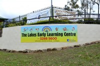 Kindergarten Wall Sign 3.6m x 1m