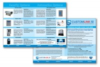 A3 folding 4 page brochure