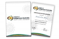 Certificate and folder