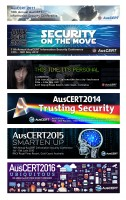 Conference theme headers -  The evolution of AusCERT's Annual Conference themes for the last