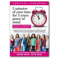 Pap smear Poster
